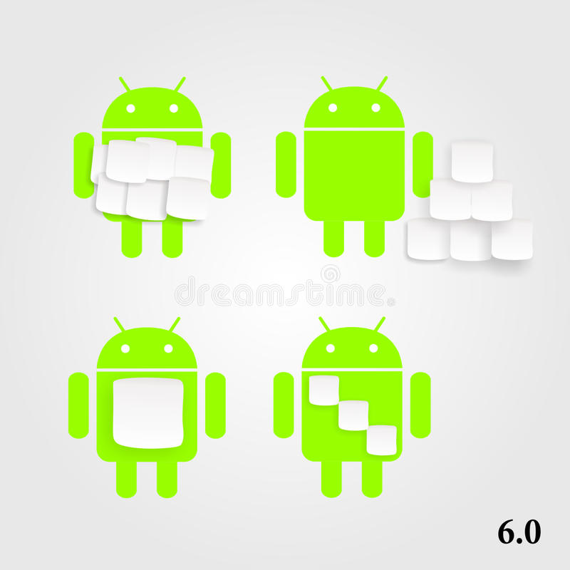 Android-heemst royalty-vrije illustratie