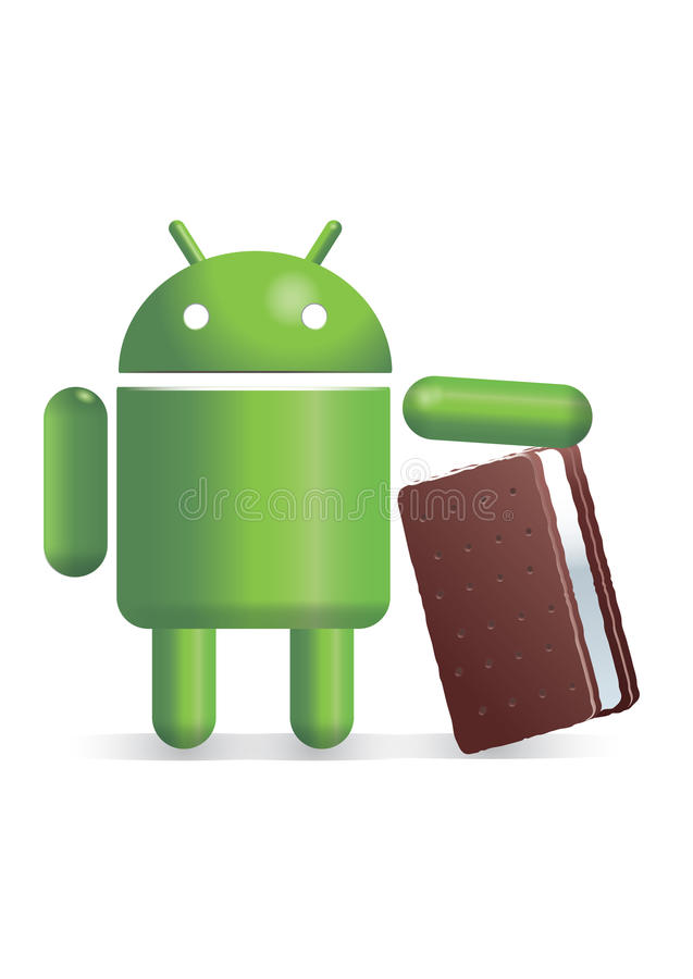 Android with icecream sandwich