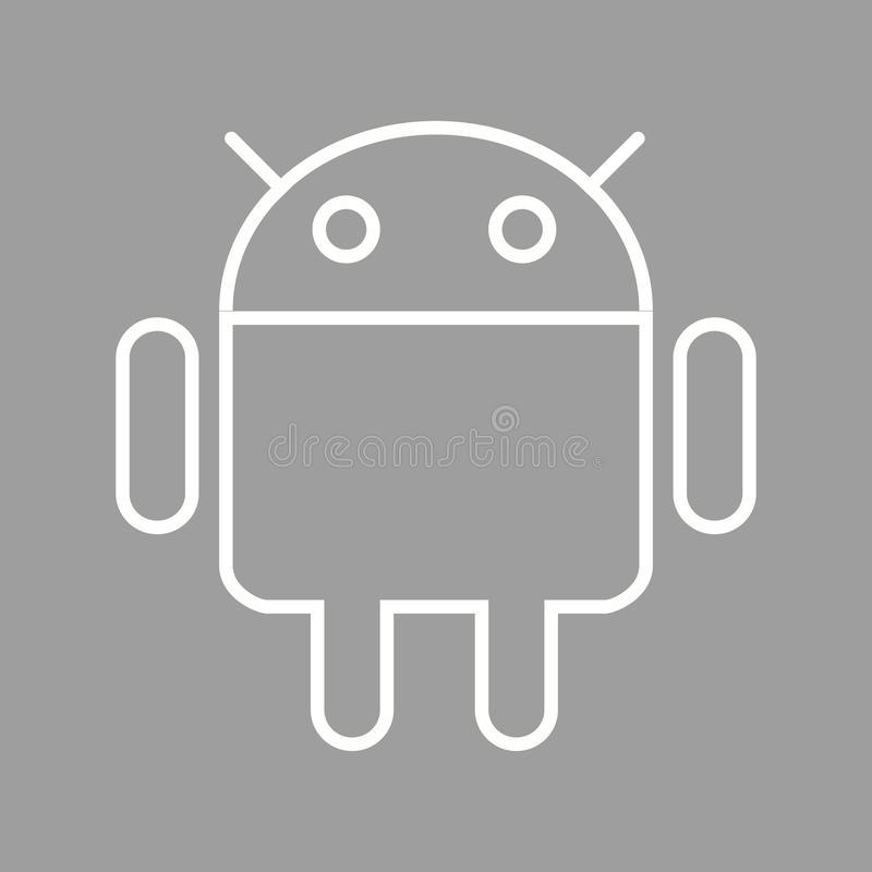 Android editorial photo  Illustration of vector, tool - 82110921