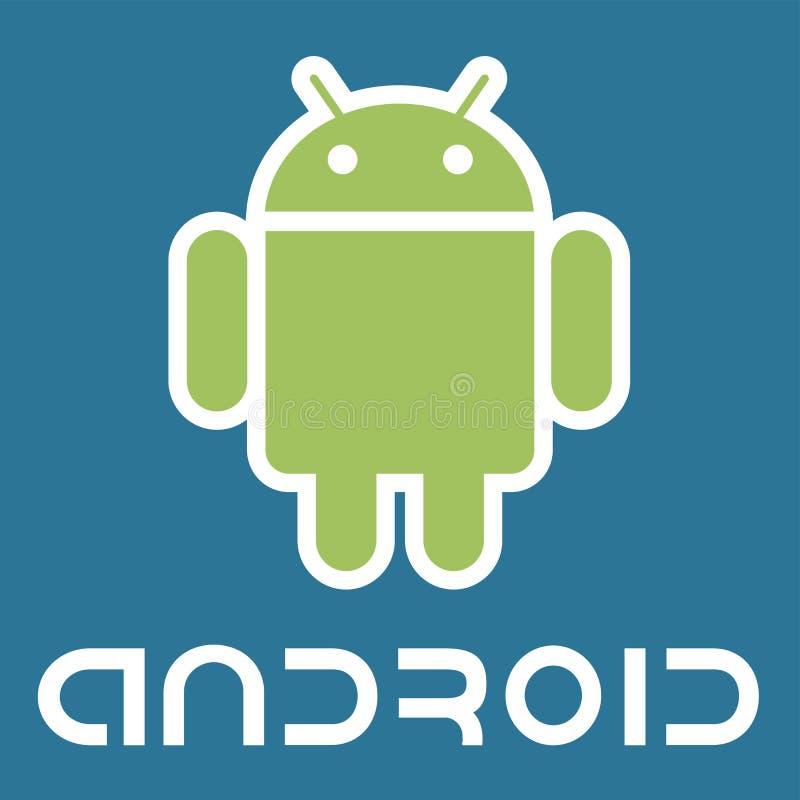 Android-Logoikone vektor abbildung