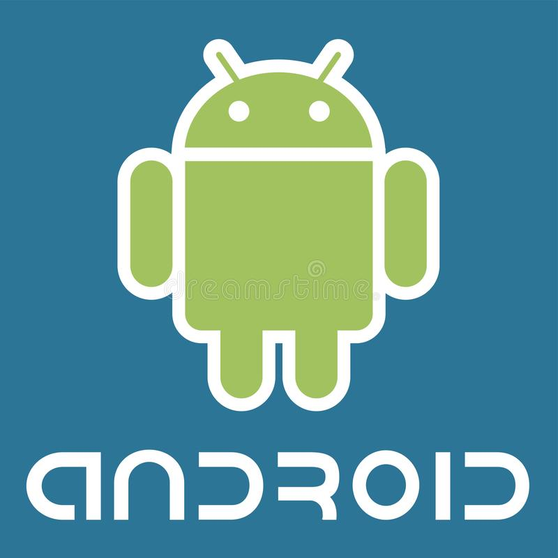 Android logo icon vector illustration
