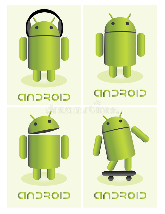 Download Android editorial image. Image of logo, robot, media - 32293325