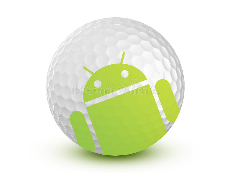 Android Store - Golf Editorial Photo