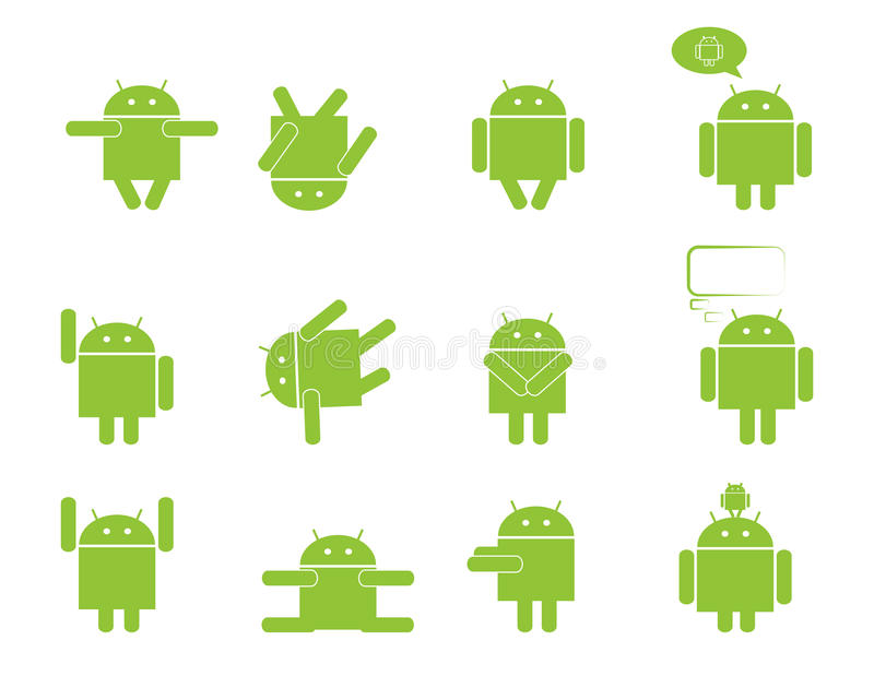 Android royalty free illustration