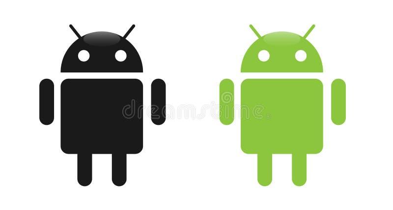 Androide ilustración del vector