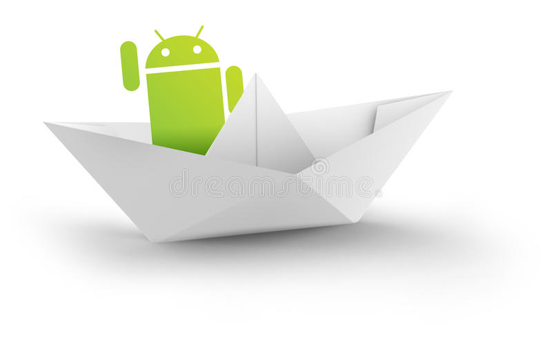androidlager stock illustrationer
