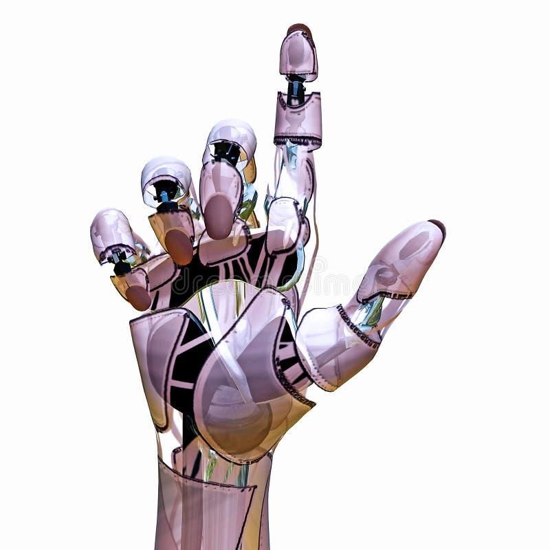 androidpekare vektor illustrationer