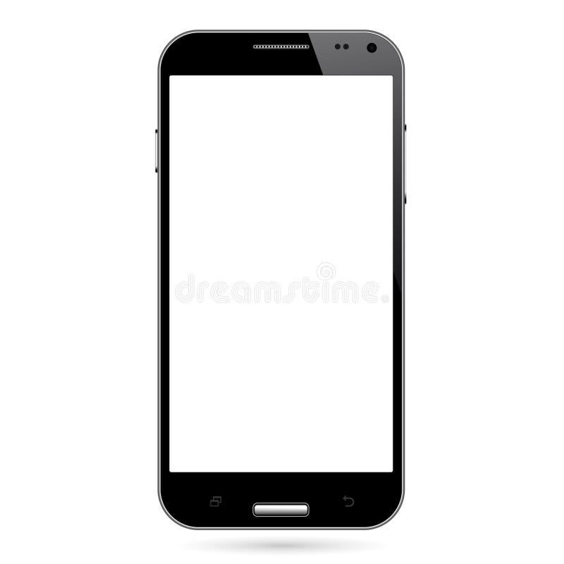 Androidu Mądrze telefon ilustracja wektor