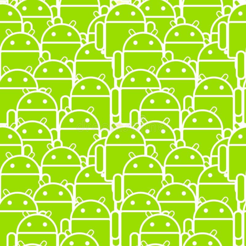 androidu motłoch ilustracji