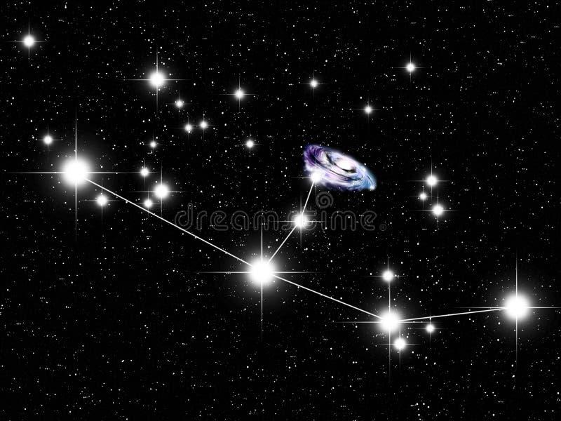 Andromeda stock illustratie