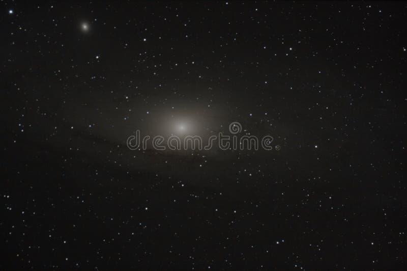 Andromeda Galaxy lizenzfreies stockbild