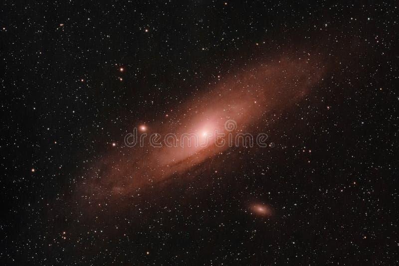 Andromeda Galaxy stockfotos