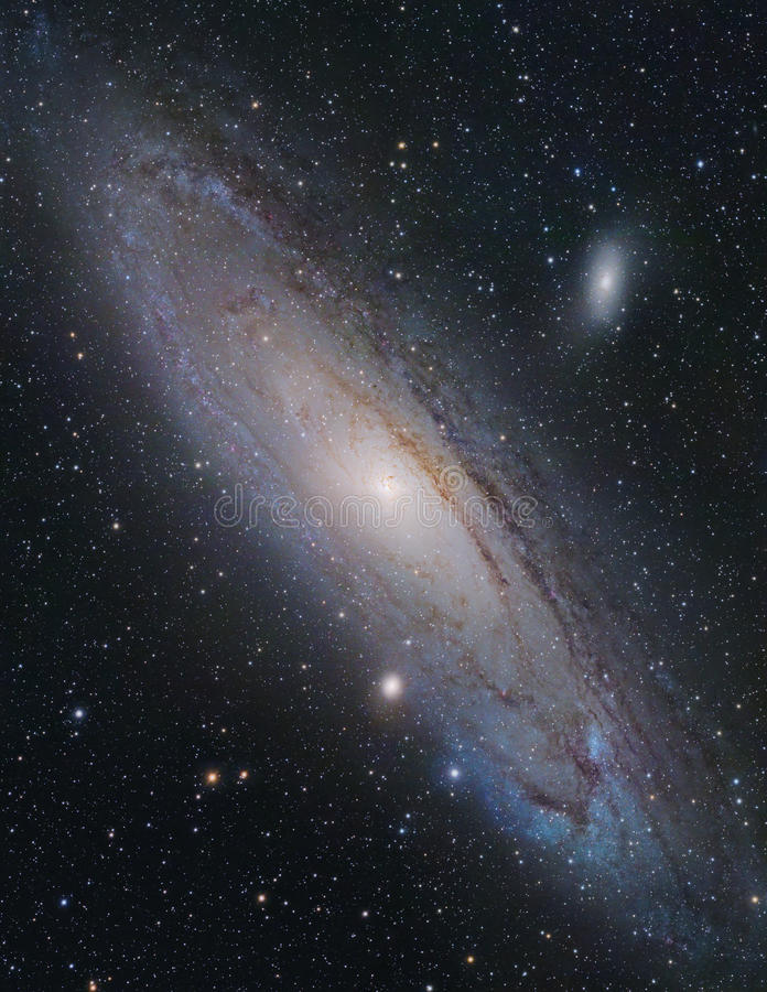Andromeda Galaxy stock photography