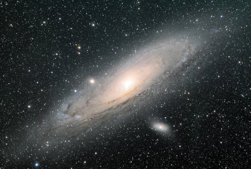 Andromeda Galaxy royaltyfria bilder