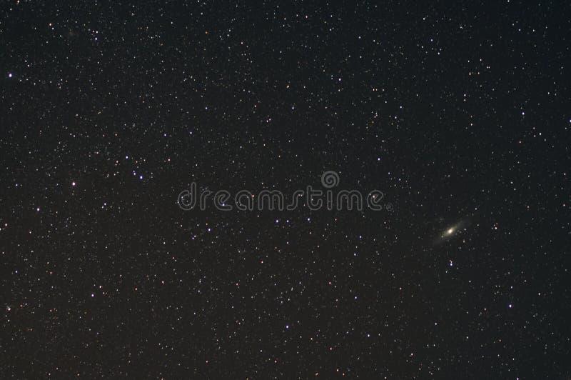 Andromeda Galaxy imagen de archivo libre de regalías
