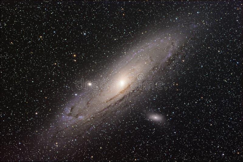 Andromeda Galaxy foto de archivo libre de regalías