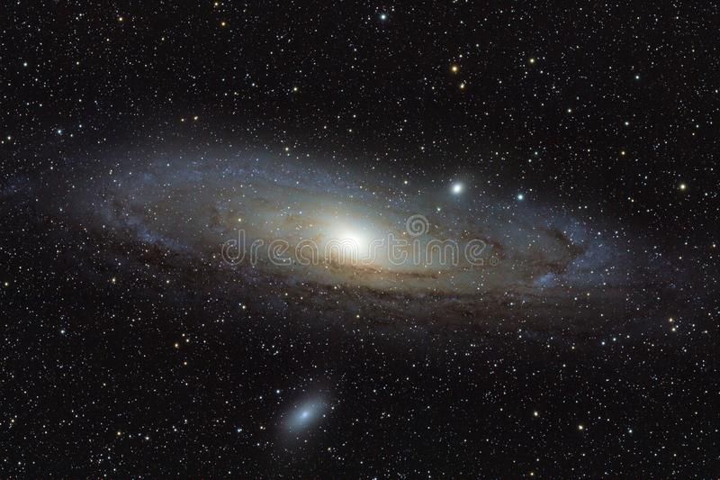 Andromeda Galaxy immagine stock libera da diritti