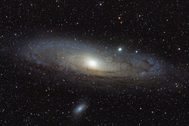 Andromeda Galaxy royaltyfri bild