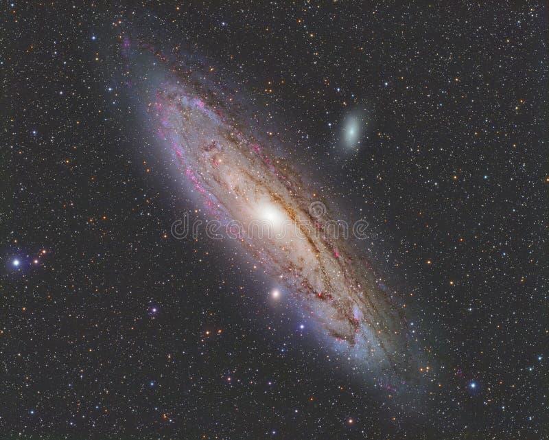 Andromeda Galaxy lizenzfreie stockfotografie