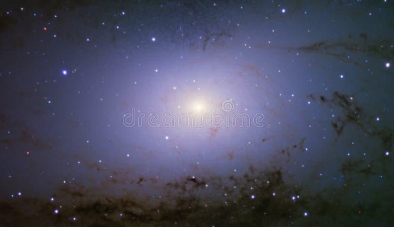 Andromedy galaxy sedna centrum obrazy stock