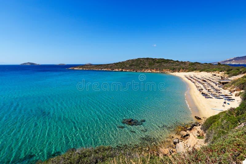 Andros eiland, Griekenland stock foto