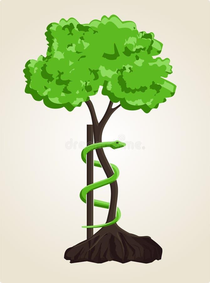 andry整形术符号结构树 库存例证