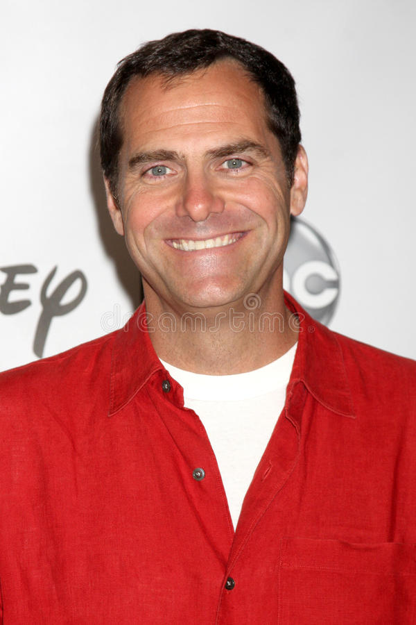 Andy Buckley. LOS ANGELES - AUG 7: Andy Buckley at the Disney/ABC Television Group Summer Press Tour at the Beverly Hilton Hotel on August 7, 2011 in Beverly stock photo