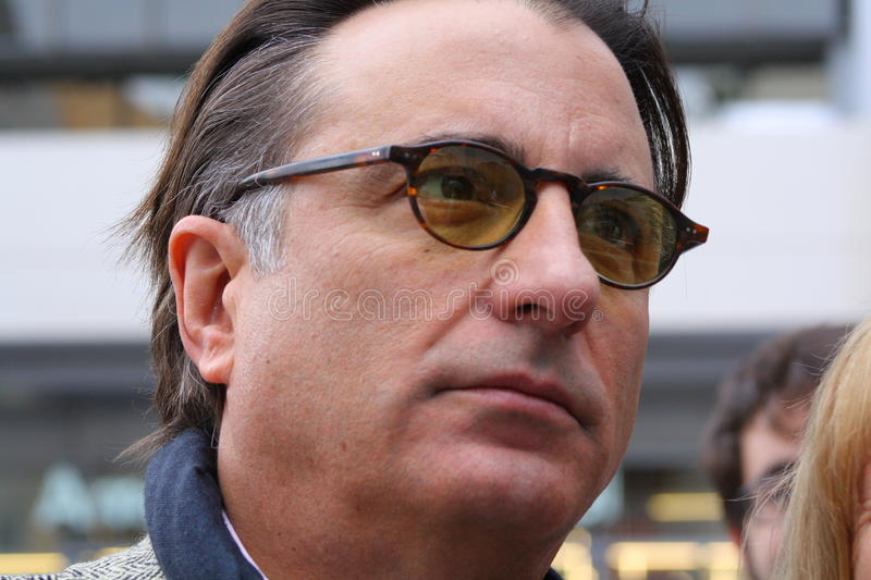 Andy Garcia. In Hollywood CA stock photos
