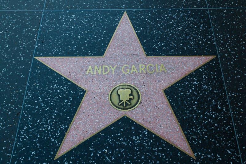 Andy Garcia gwiazda hollywoodu zdjęcia royalty free