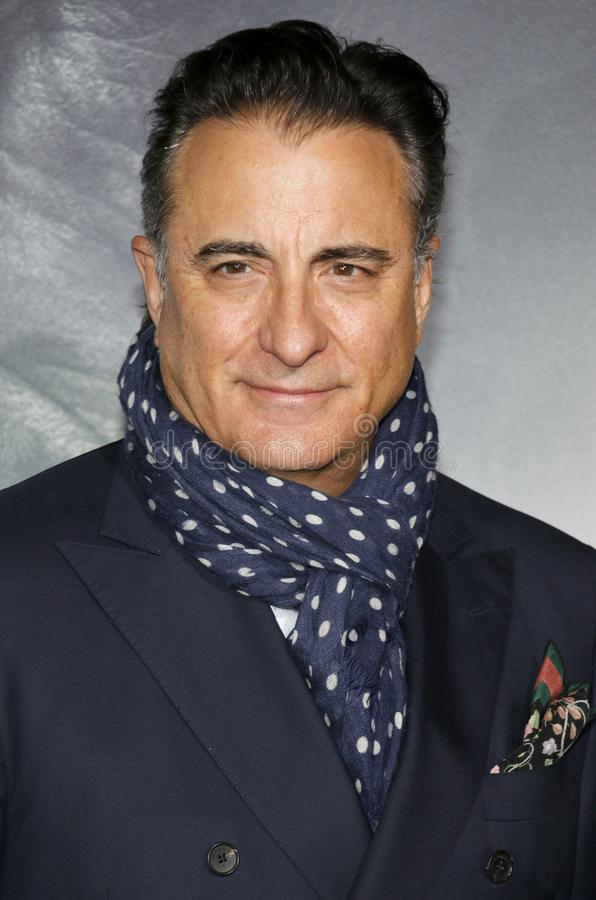 Andy Garcia. At the World premiere of `The Mule` held at the Regency Village Theatre in Westwood, USA on December 10, 2018 stock image