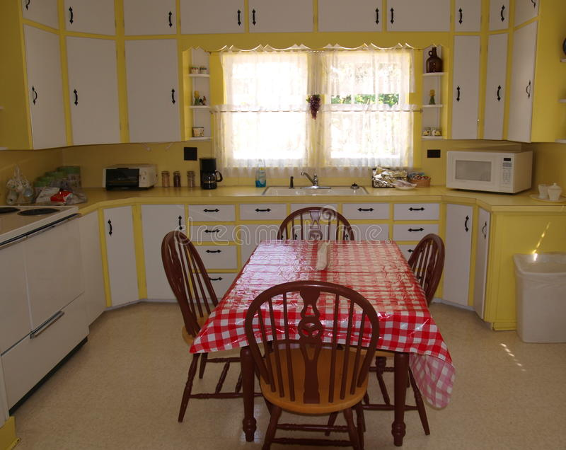 Andy Griffith Kitchen. With the exception of a few modern conveniences, the kitchen inside of Andy Griffith's childhood home still appears much as it did in the royalty free stock image