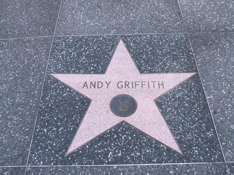Andy Griffith star stock photo
