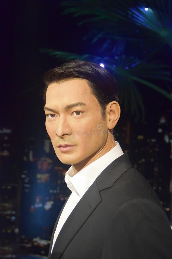 Andy Lau Tak Wah image libre de droits