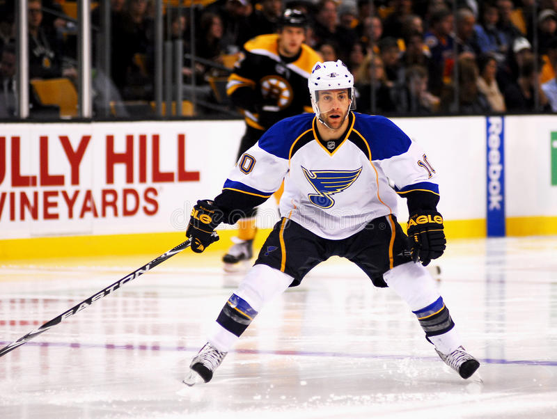 Andy McDonald St. Louis Blues stock photo