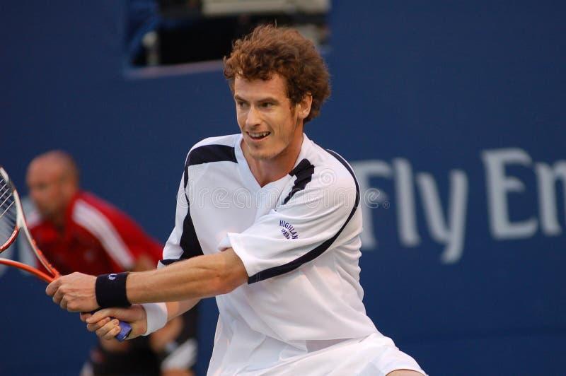 Andy Murray 2008 (57) royalty-vrije stock afbeeldingen