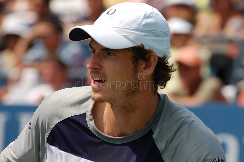 Andy Murray aux USA ouvrent 2008 (8) photo stock