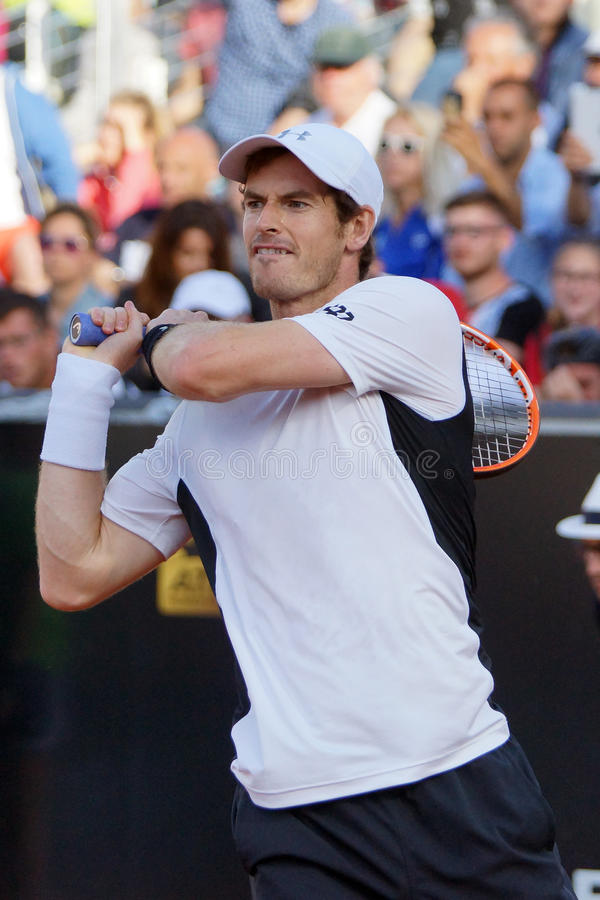 Andy Murray (GBR) royalty-vrije stock foto