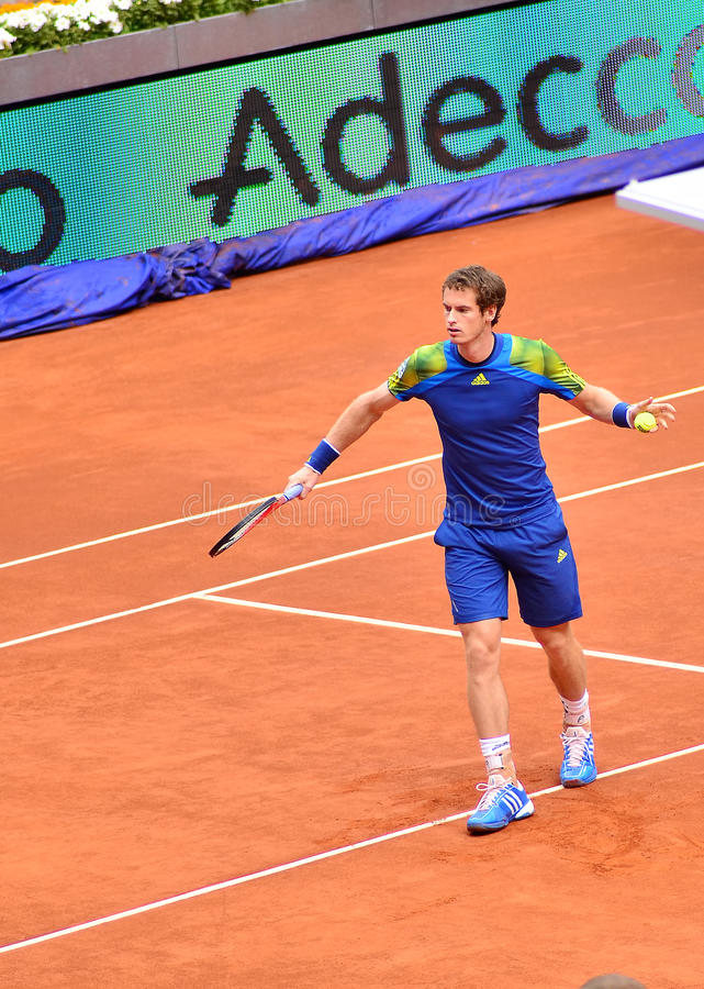 Download Andy Murray editorial stock image. Image of 1000, main - 30859834