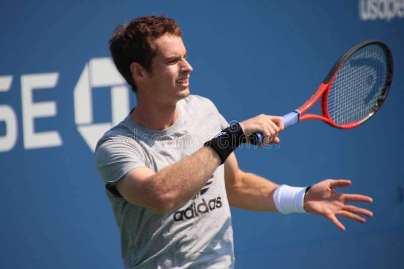 Download Andy Murray editorial stock image. Image of match, professional - 33070344
