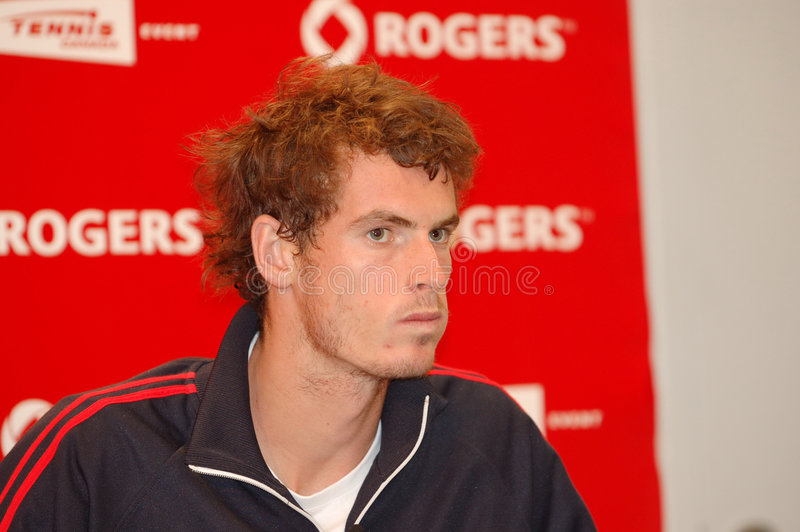 Andy Murray Rogers Cup 2008 (88) stock fotografie