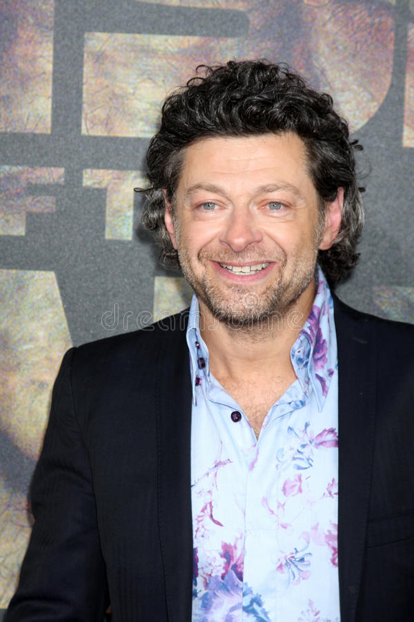 Andy Serkis immagine stock