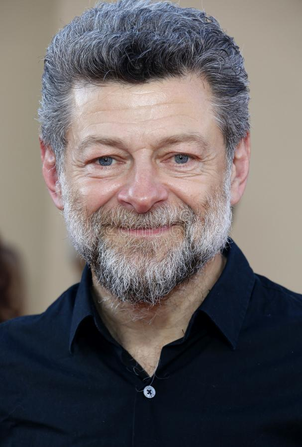 Andy Serkis. At the Los Angeles premiere of `Once Upon a Time In Hollywood` held at the TCL Chinese Theatre IMAX in Hollywood, USA on July 22, 2019 royalty free stock photography