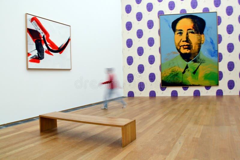Andy Warhol - Mao Hamburg bahnhof royalty-vrije stock afbeelding