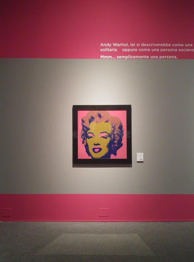 Andy Warhol Marilyn Monroe images libres de droits