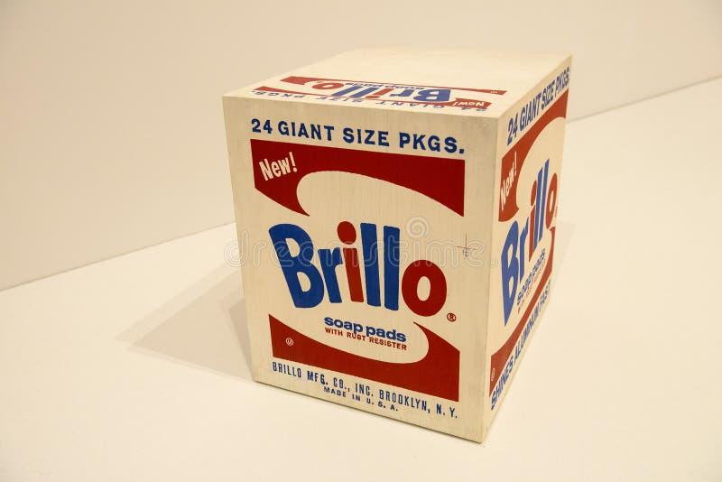Andy Warhol, Pop art moderno fotografia stock libera da diritti
