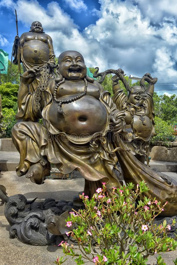 Anek Kuson Sala Pattaya Viharn Sien jest pięknym chińczykiem t obraz royalty free