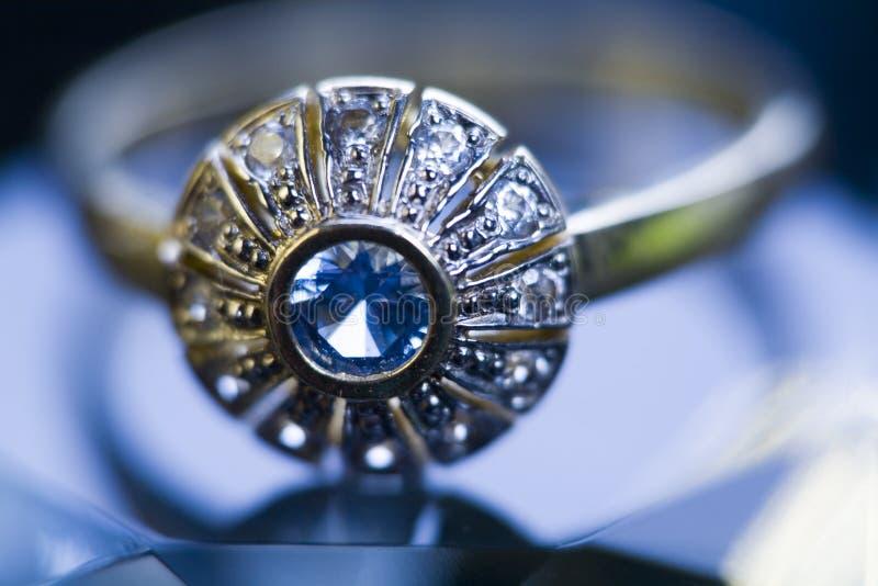 Anel & diamante foto de stock royalty free
