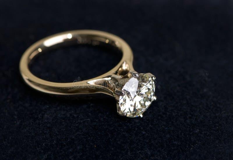 Anel de casamento imagem de stock