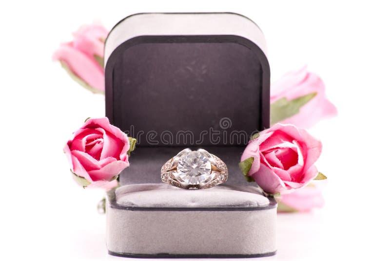 Anel de casamento do acoplamento fotos de stock