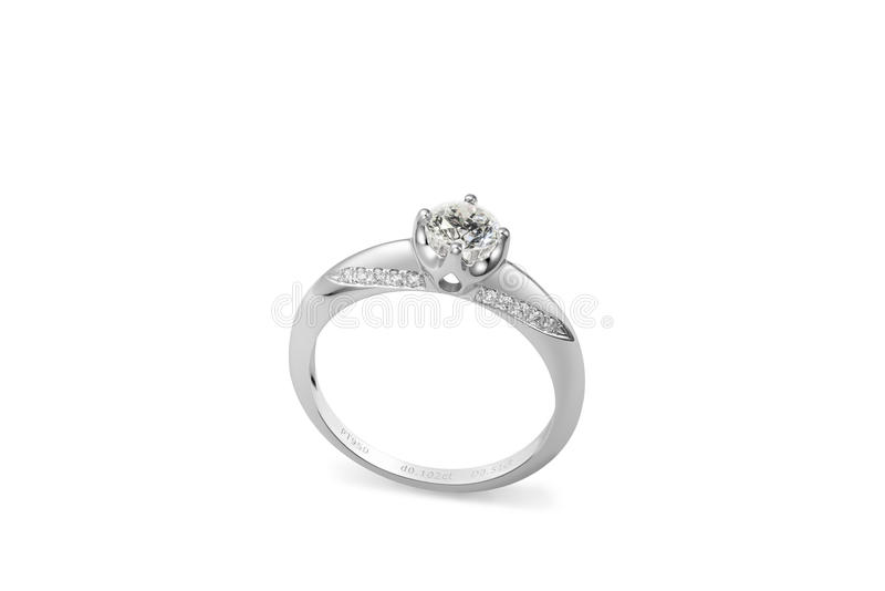 Anel de diamante fotos de stock